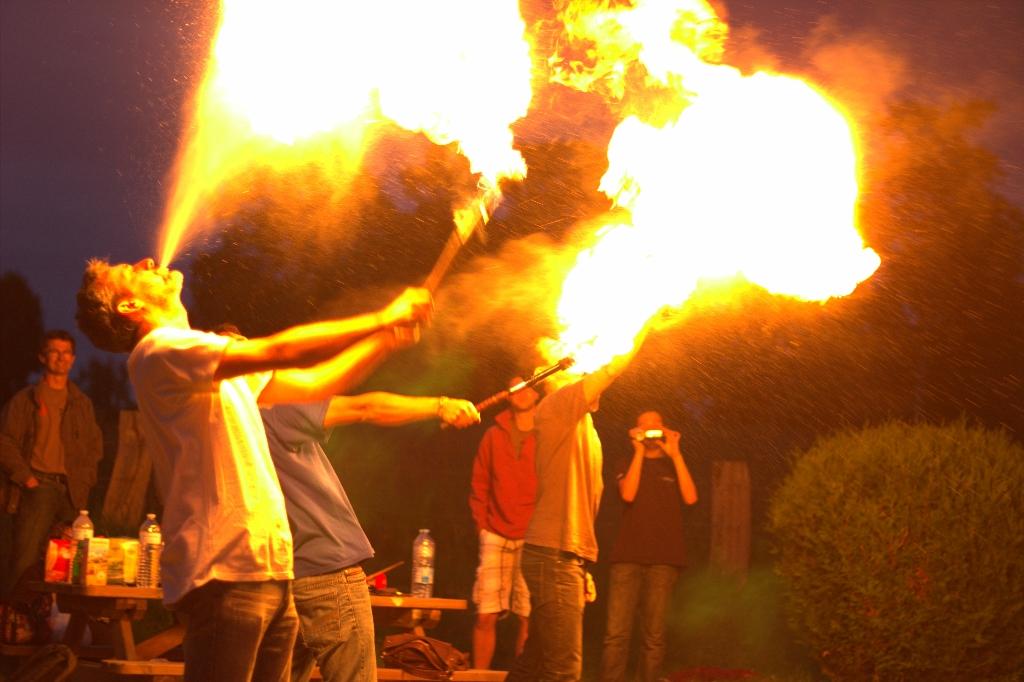 Oulà, ça brûle de partout!