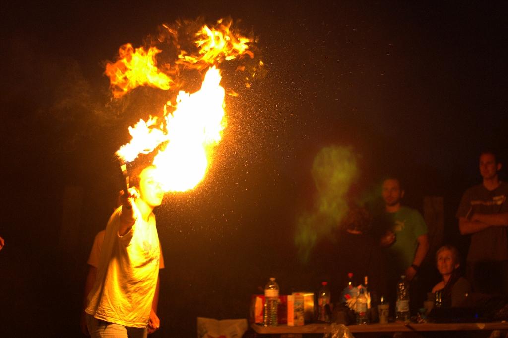 Fanny dans les flammes de l'enfer